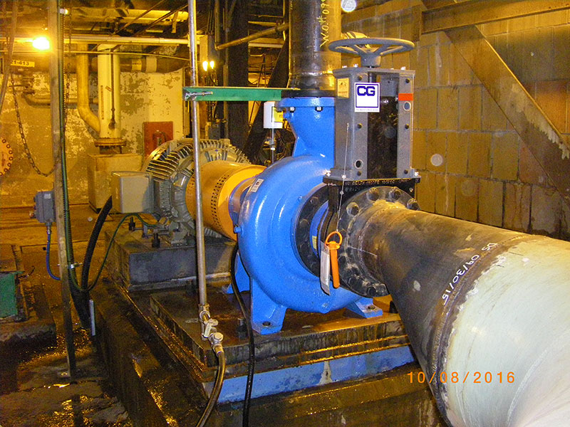 Pump Replacement, Industrial Design, Mechanical Engineering