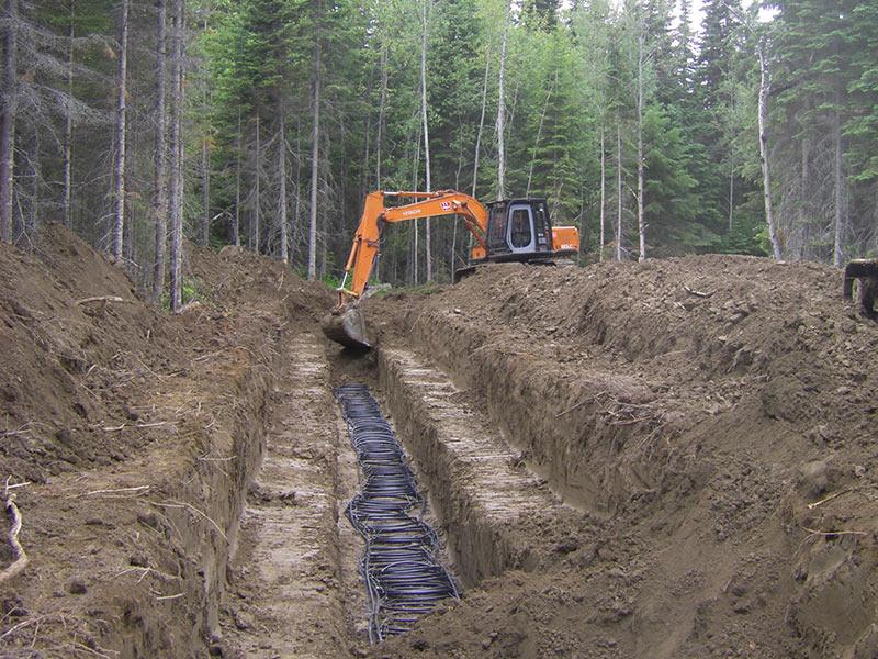 Hybrid Geothermal Ground Loops